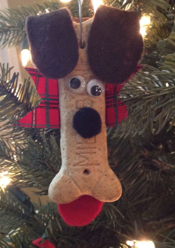 Christmas Ornament Crafts Ornament Crafts And Dog Bones