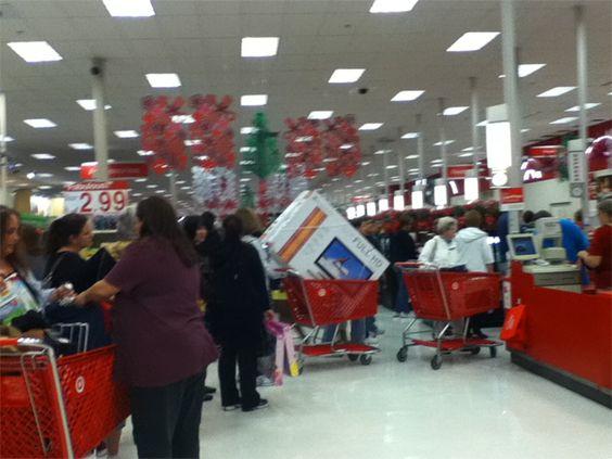 Lines at Checkout #MyBFDeals
