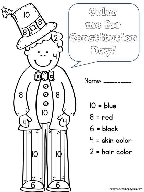 celebrate freedom week coloring pages - photo#5