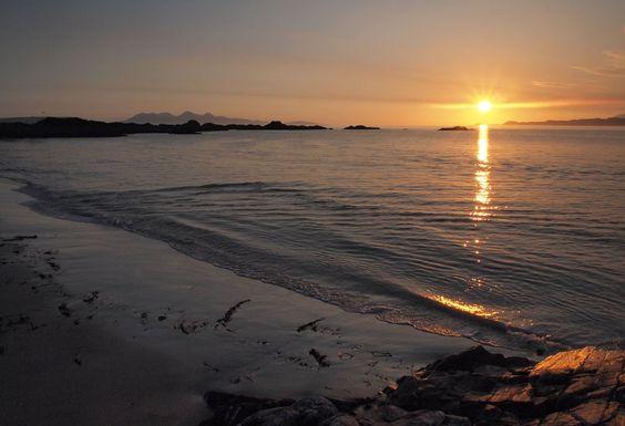 Morar Sunset, Camusdarach