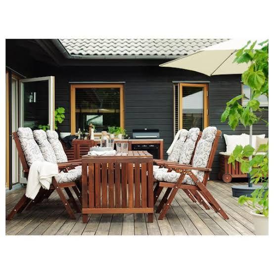 IKEAの屋外用ÄPPLARÖでベランダや庭をおしゃれな北欧風に!