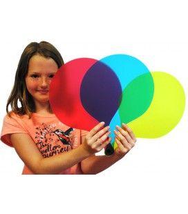 Paletas de colores primarios