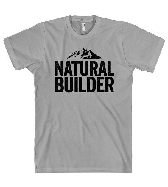 """""""natural builder, cob,earth building t -shirt"""""""