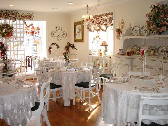 English Tea Room Decorating Ideas