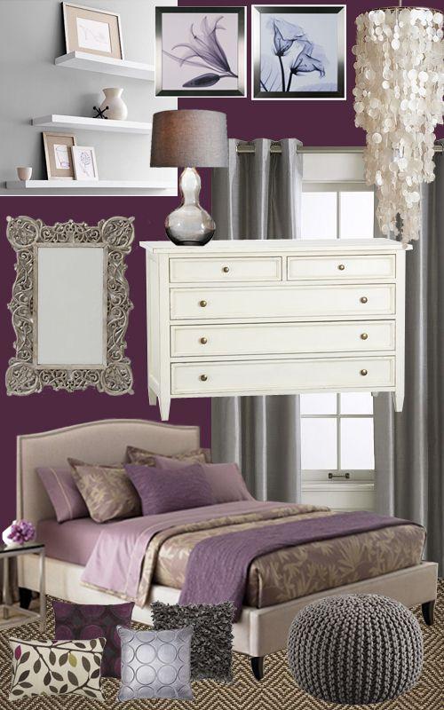 colors inspiration color pallets bedrooms plum bedroom design