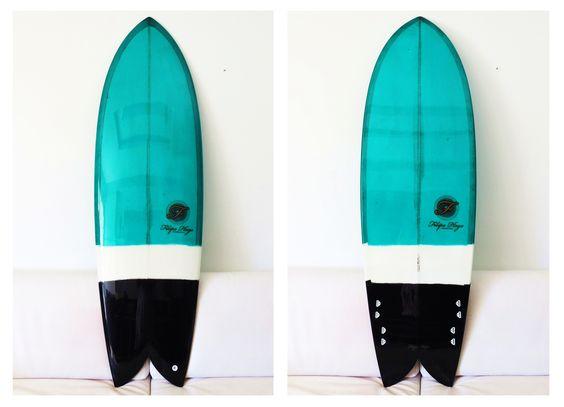 Fishboard Summer Love 6'0''  #resintint