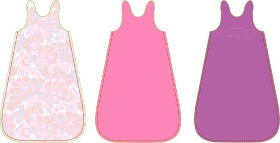 Fabrik der Träume: Kostenloses Schnittmuster für einen Babyschlafsack