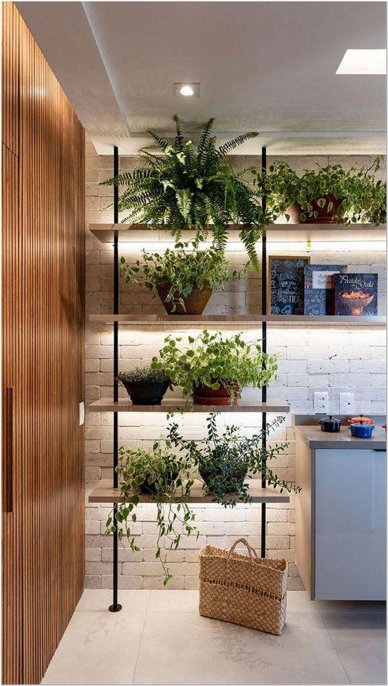 75 house decor ideas for catchy shelves 23 - coodecors #shelves #housedecoration #homedecor #shelf