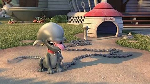 In Planet 51 2009 The Alien Dog Which Bears A Striking