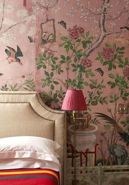 Chinoiserie Removable Wallpaper Roundup Here Are Some Eous Self Adhesive Wallpapers Perfect For An Accent W Chinoiserie Wallpaper Home Wallpaper Bedroom Decor