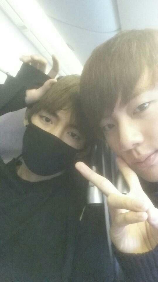 BTS V & Jin