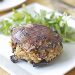 Earthy, sweet and healthy.  A loose play on a burger that's got just as much bite!