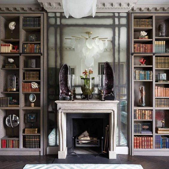 book wall ideas