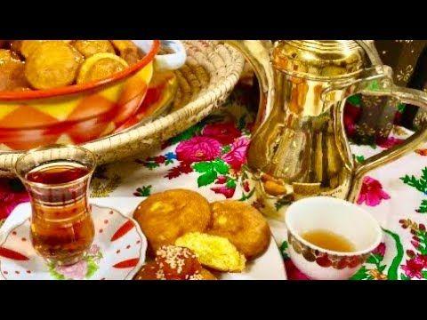 الذ خنفروش إسفنجي ما يشرب زيت مع القهوة العربية Youtube Cooking