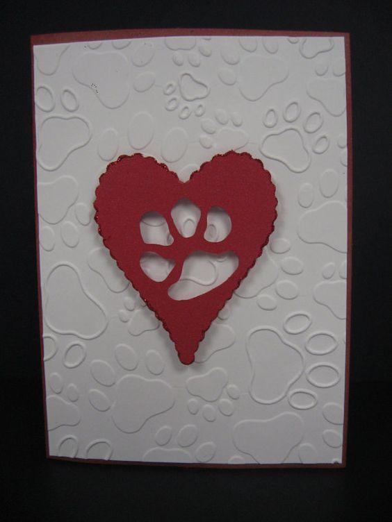 Handmade Pet Sympathy card by TheRescueMama on Etsy, $3.99