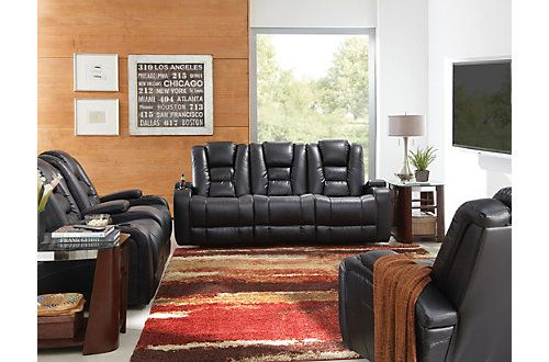 Strange Matrix Black Power Reclining Sofa Power Recliners Uwap Interior Chair Design Uwaporg