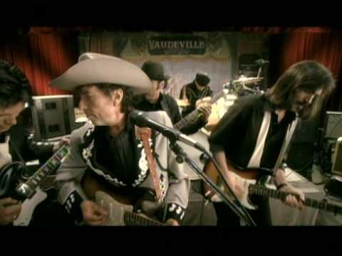 Music video by Bob Dylan performing Thunder On The Mountain. (c) 2006 SONY BMG MUSIC ENTERTAINMENT
