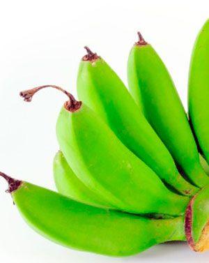Receita de biomassa de banana verde