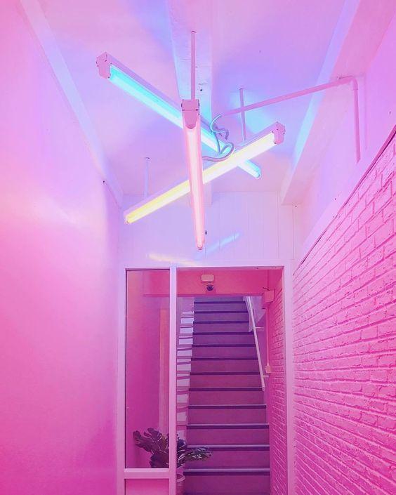 핸드폰 배경화면 초고화질 다운로드 9 Flower Wallpaper Yellow Sky Iphone Background Lights Pink Walls Neon Room