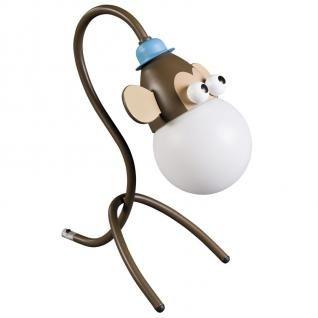 Kinderzimmer Monkey Tischleuchte Kindertischleuchte Kiko Tischlampe Affe - Vorschau 1