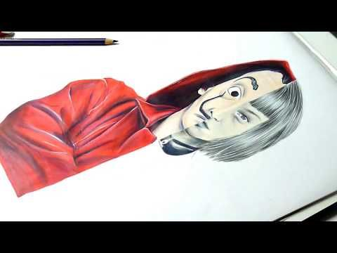 How To Draw La Casa De Papel Tokyo Tokio Speed Drawing Youtube Como Dibujar Cosas Casas De Papel Las Casas De Papel