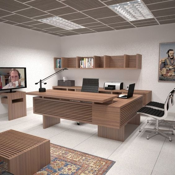 Propuesta para mobiliario de oficina ejecutiva rra for Mobiliario de oficina moderno
