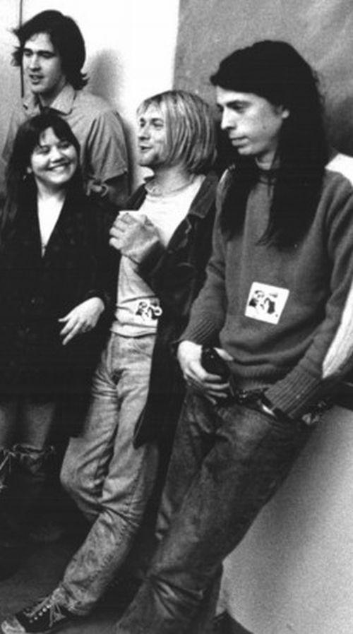 Kurt W Tracy His Girlfriend Kurt Cobain Pinterest