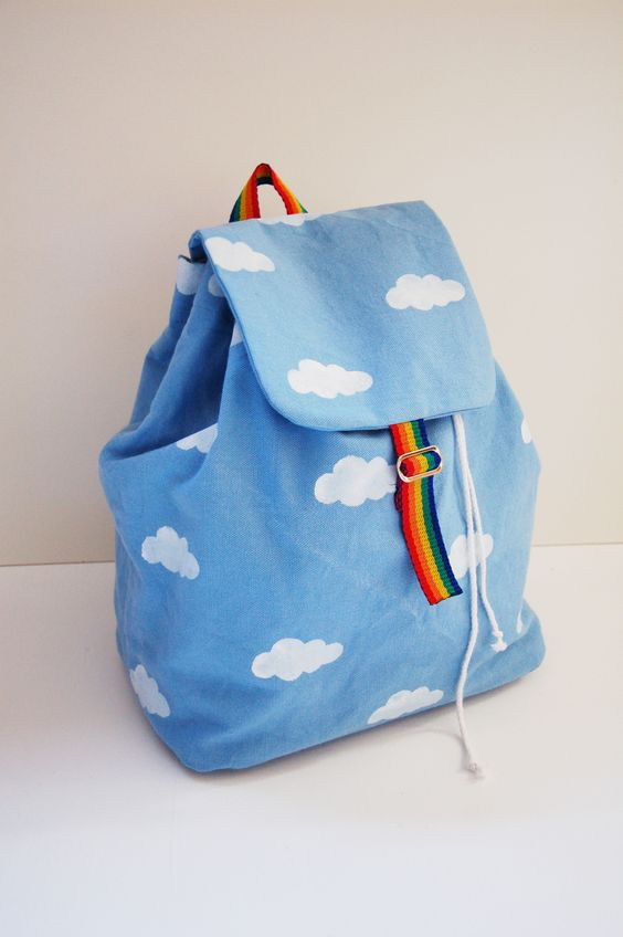 Cloud Backpack Free Pattern and Tutorial.: