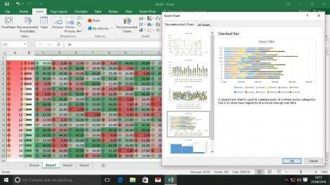 Top 10 Excel 2016 tips -> http://www.techradar.com/1327245  Introduction  Many of us spend a vast portion of our time banging our heads against Excel. Unfortunately we can't help you make those specific figures line up in Office 2016's spreadsheet app  that one's on you  but we can show you a few things which will make your life easier.  We're looking at tricks you can pull off inside the cells and out improving Excel's interface while making your calculations more powerful and versatile…