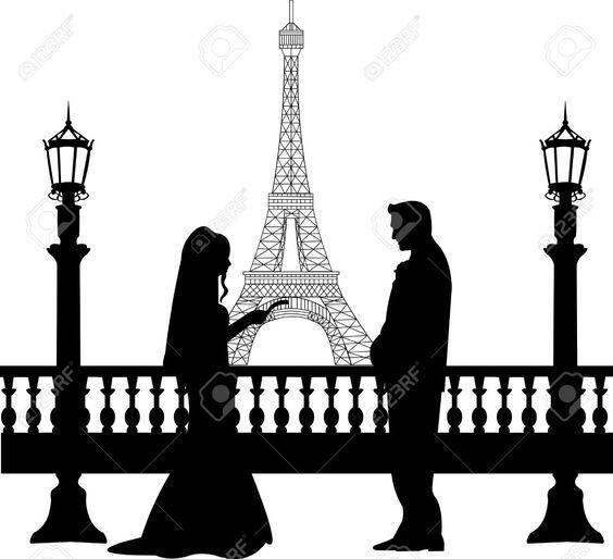 silhueta casamento - Pesquisa Google