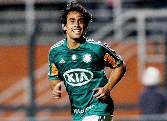 Valdívia Ri a toa no Palmeiras.