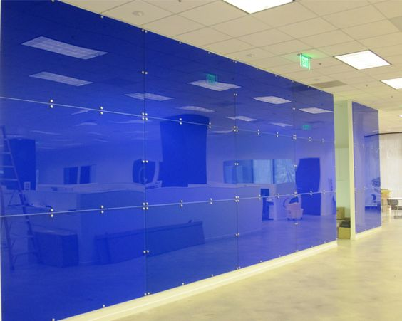 Wall Decoration Plastic Sheets : Coloured acrylic wall panels design architecture