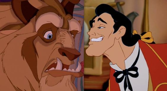 """If the Beast was ugly on the exterior and had a heart of gold, Gaston was wonderful and beautiful and handsome on the exterior and had the heart of a pig."" -Don Hahn, producer of Beauty and the Beast"