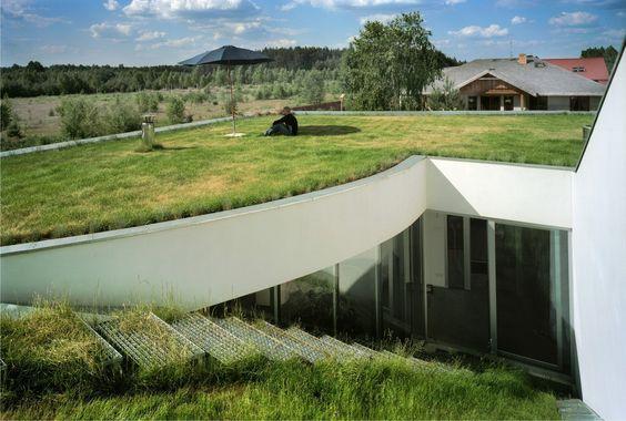 Archivo: Casas con Cubiertas Verdes