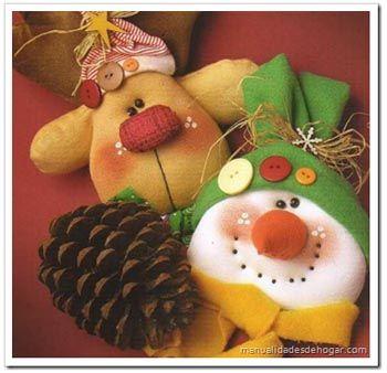 Navidad en tela polar buscar con google adornos - Adornos de navidad de tela ...