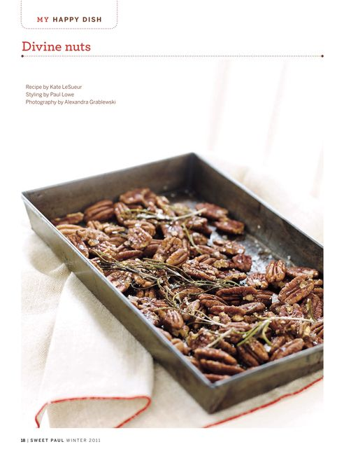 Rosemary & Honey Pecans