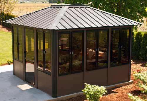 10 Diy Home Decorating Ideas On A Budget Tips Techniques Backyard Gazebo Hot Tub Gazebo Enclosed Gazebo