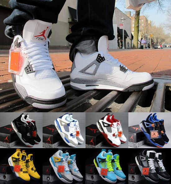 Air Jordan 4 Styles Dattachement