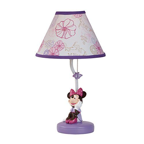 Disney Minnie Butterfly Dreams Lamp And Shade Click For