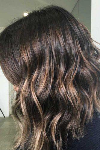 42 Chic Medium Length Layered Hair | Medium length hair with ...