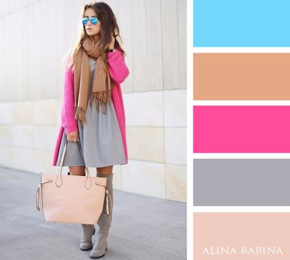 Colors by Alina Babina | Color Palette Fashion | Pinterest ...