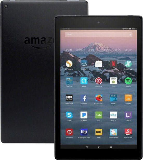Best Buy Amazon Fire Hd 10 10 1 Tablet 32gb 7th Generation 2017 Release Black B01j6rpgkg Amazon Fire Tablet Fire Hd 10 Amazon Kindle Fire