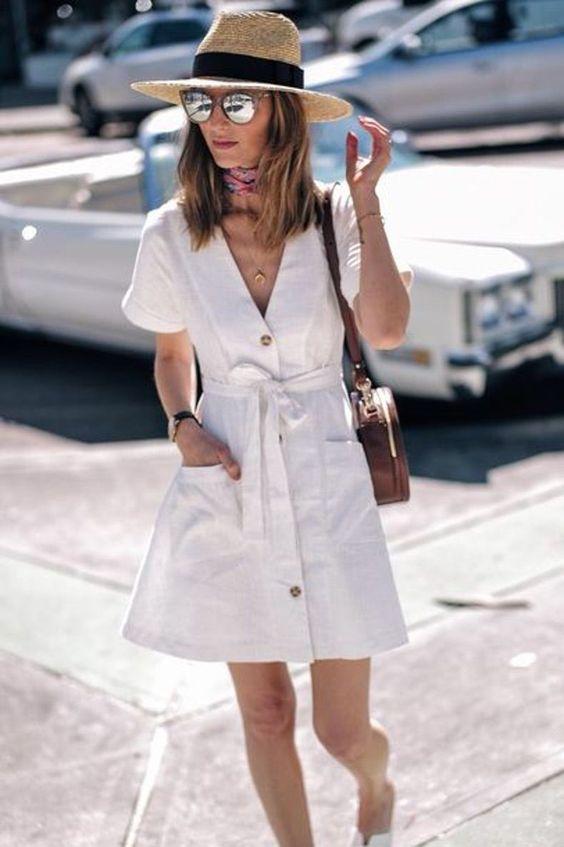 Vestidos De Lino Abotonados: Nuestra Prenda Favorita Para Este Verano | Cut & Paste – Blog de Moda