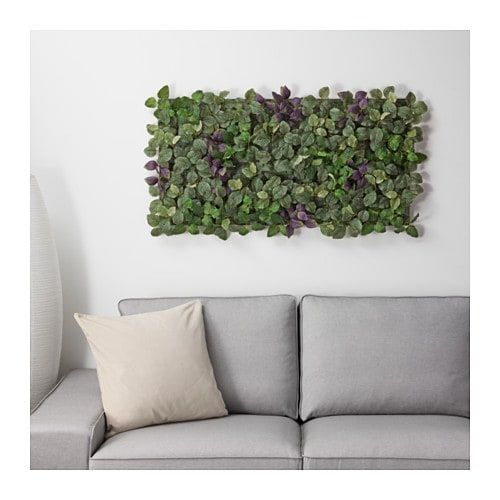 Fejka Artificial Plant Wall Mounted Indoor Outdoor Green Lilac Ikea Artificial Plant Wall Plant Wall Artificial Plant Arrangements