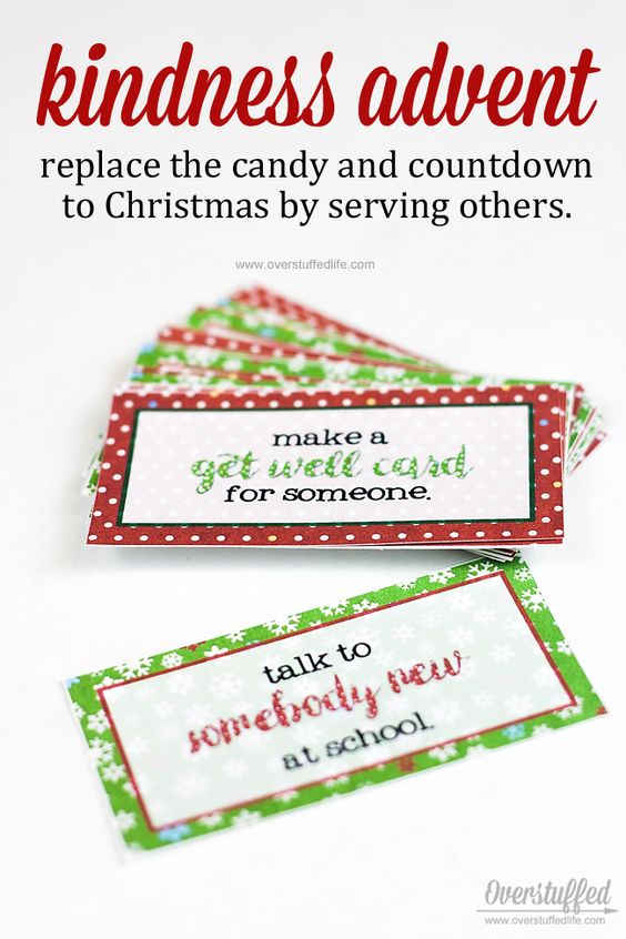 4 Ideas for Candy-Free Advent Calendars Each day, Advent calendar