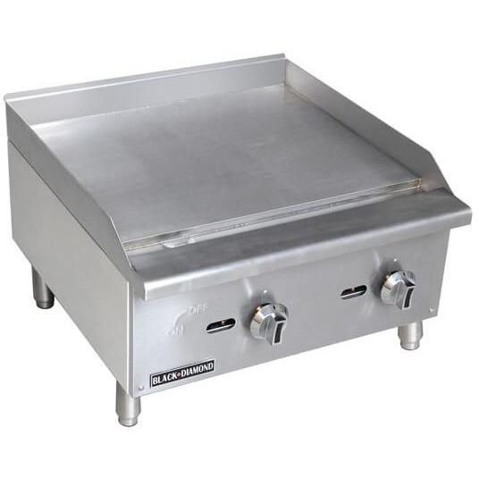 Commercial Kitchen Manual Control Countertop Natural Gas Griddle