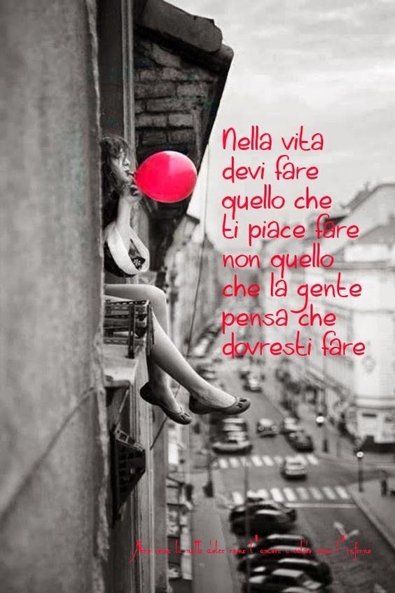 Nero come la notte dolce come l'amore caldo come l'inferno: nella vita devi fare quello che ti piace fare, non...
