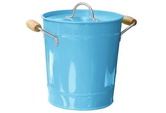 That Special Blue Ice Bucket Tin on OneKingsLane.com