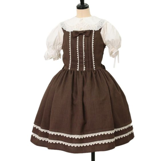 http://www.wunderwelt.jp/products/detail6727.html ☆ ·.. · ° ☆ ·.. · ° ☆ ·.. · ° ☆ ·.. · ° ☆ ·.. · ° ☆ Brown jumper skirt Innocent World ☆ ·.. · ° ☆ How to order ↓ ☆ ·.. · ° ☆ http://www.wunderwelt.jp/user_data/shoppingguide-eng ☆ ·.. · ☆ Japanese Vintage Lolita clothing shop Wunderwelt ☆ ·.. · ☆ #egl