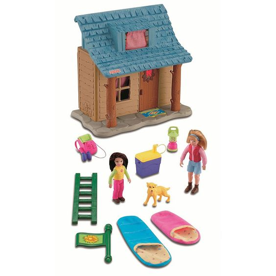 Fisher Price Loving Family Camping Cabin English